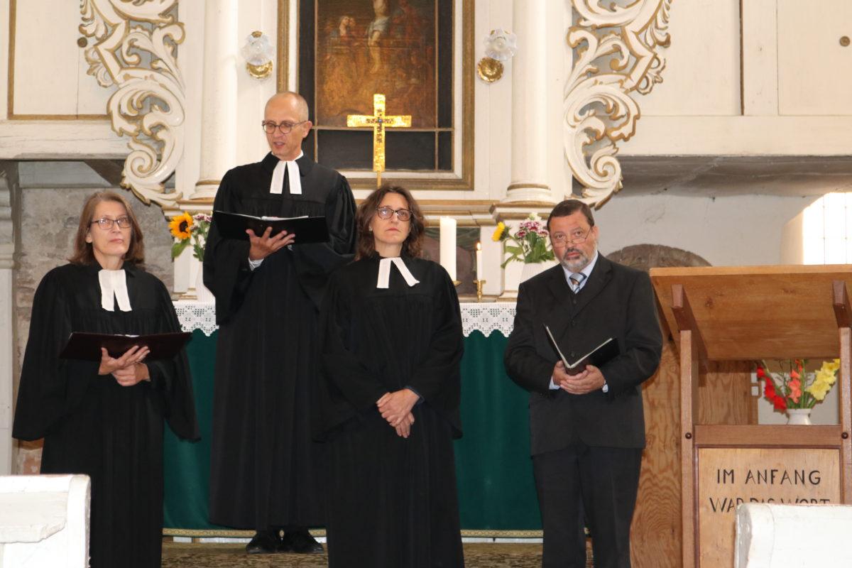 Amtseinführung Pfarrerin Arendt-Wolff